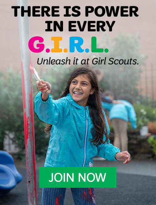 There is power in every G.I.R.L. Unleash it at Girl Scouts.