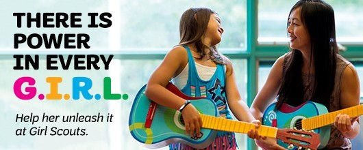 There is power in every G.I.R.L. Help her unleash it at Girl Scouts. Volunteer Now
