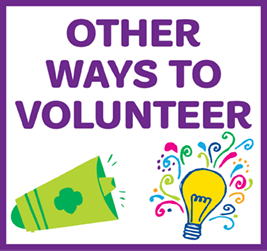 Other ways to volunteer.